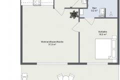 2-Zimmer-Wohnung-_2D-Grundriss