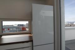 Standkühlschrank mit Glas